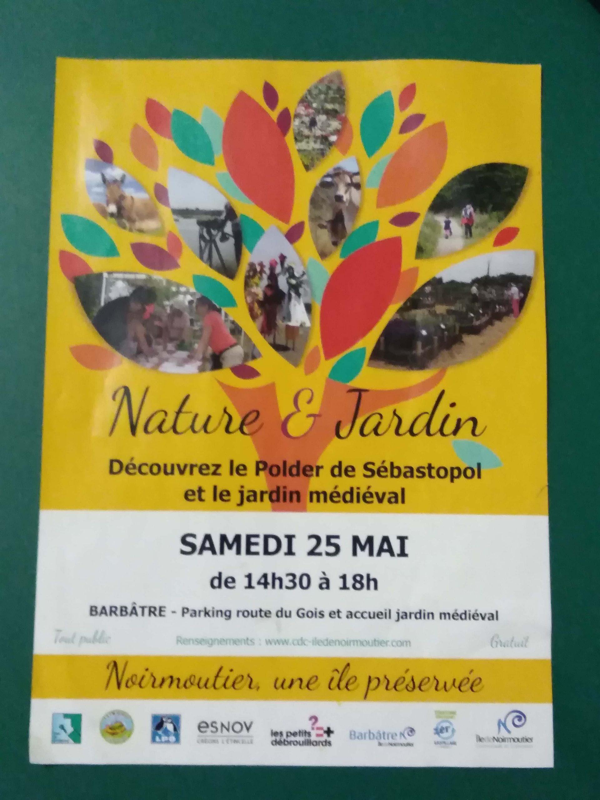 Mai 2019 – Noirmoutier, manifestation «Nature et Jardin»